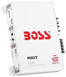 Boss Marine MR1004 4 Channel Entry Level Amplifier #MT5640111