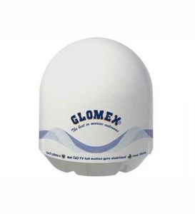 Glomex Antenna TV Satellitare SATURN 4 V9104S2 #MT5637044