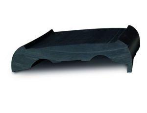 Tessilmare Base Standard Nera in PVC H40mm Confezione da 12 Metri per Profili Sphaera 25 e 35 #MT383250212