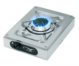 Stainless Steel Hotty Gas Stove 1 - 1 Burner 210x290mm #MT1504040