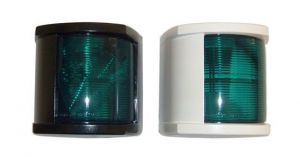 Plastic navigation light - Green light - 63x75x53mm #MT25127940