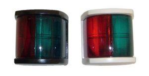 Plastic navigation light - Green-red light - 63x75x53mm #MT25127942