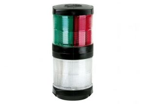 Hella Marine Tricolor Anchor Navigation Light - Black #MT2113303