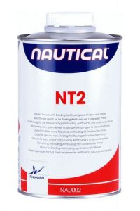 Nautical NT2 Thinner for use with Eroding Antifouling and Primer 1Lt #470COL2501