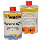 Veneziani Diluente 6780 0,5lt per Poliuretani #473COL252