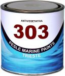 Marlin 303 Antifouling with High Copper Content Black 0.75lt #461COL463