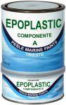 Marlin Epoplastic A+B Fondo Epossidico 2,5lt Trattamenti Antiosmosi Bianco #461COL555