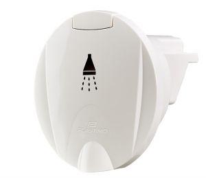 White shower head housing Cut-out Ø 70mm #N42737302441