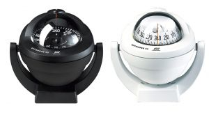 White Offshore 95 Compass with Black flat card #FNIP65740