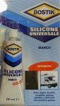 Bostik Silicone universale 60ml Bianco #486COL749