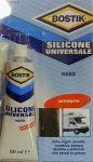 Bostik Silicone universale 60ml Nero #486COL750