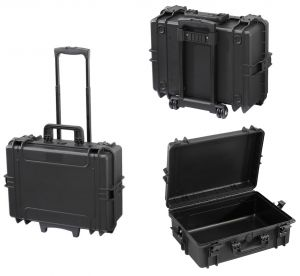 Waterproof Trolley Case Empty 505TR IP67 Black for Electronic Devices #66020012