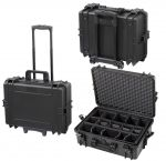 Trolley Case with Padded Partition 505CAMTR IP67 Black for VHF Radio #66020014