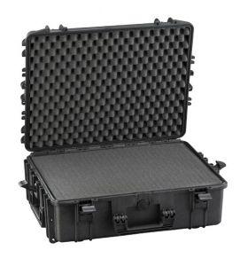 Valigia stagna IP67 540H190S con spugna cubettata x Radio VHF Nero #66020020
