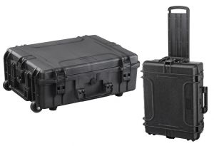Waterproof Trolley Case Empty 540H190TR Black VHF Radio Video Cameras #66020021