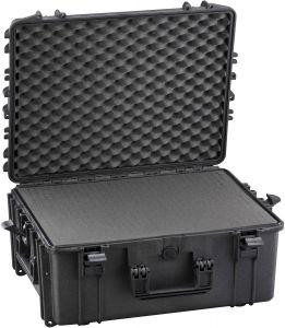 Valigia stagna IP67 540H245S con spugna cubettata x Radio VHF Nero #66020024