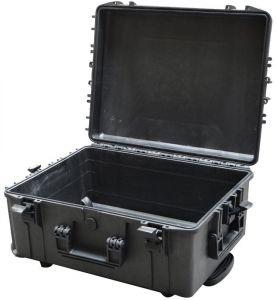 Waterproof Trolley Case Empty 540H245TR Black VHF Radio Video Cameras #66020025