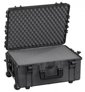 Waterproof Trolley Case Cubed Foam 540H245STR Black VHF Video Cameras #66020026