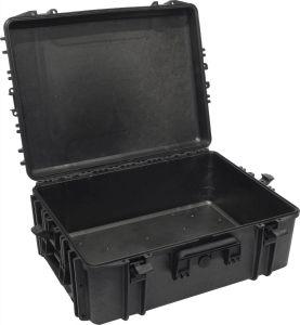 Valigia stagna IP67 620H250 vuota per Radio Audio VHF Videocamere Nero #66020027