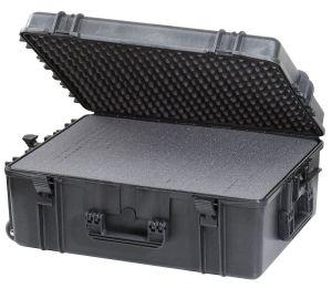 Waterproof Trolley Case Cubed Foam 620H250STR Black VHF Video Cameras #66020030