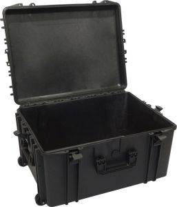 Waterproof Trolley Case Empty 620H340TR Black VHF Radio Video Cameras #66020033