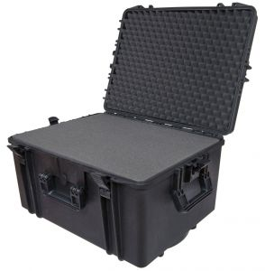 Waterproof Trolley Case Cubed Foam 620H340STR Black VHF Video Cameras #66020034