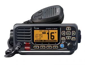 Icom IC-M330GE Ricetrasmettitore fisso VHF 25W Nero GPS integrato #66020536