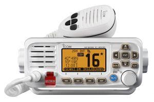 Icom IC-M330GE White Fixed VHF Marine Transceiver 25W RF built-in GPS #66020537