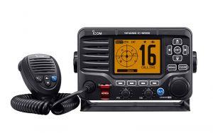 Icom IC-M506EURO VHF Fixed Transceiver with 25W RF DSC/AIS #66020551