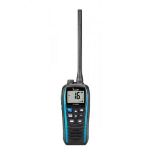 Icom IC-M25EURO Blue Floating Handheld VHF 5W Marine Transceiver #66020566