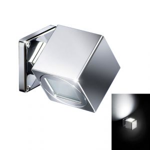 Quick QB SPIN 4W IP40 Aluminum Fixed Wall Light with 1 POWER LED Adjustable #Q26002403
