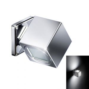 Quick QB SPIN 2+2W IP40 Aluminum Fixed Wall Light with 2 LED Adjustable #Q26002405