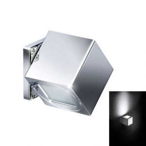 Quick Applique LED Alluminio QB COMPASS 4W IP40 con 1 luce POWER LED #Q26002406