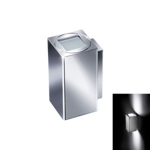 Quick QB TOWER 6+6W IP40 Aluminum Fixed Wall Light with 2 LED #Q26002412