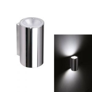 Quick Applique LED Acciaio Inox TB 316 Tower 6+6W 2L POWER LED IP65 #Q26002418