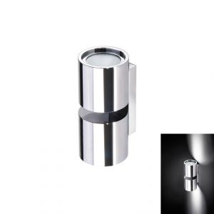Quick TB TWINS 6+6W IP40 Aluminum Fixed Wall Light with 2 POWER LED #Q26002420