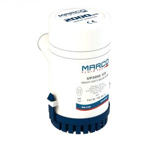 Marco UP2000 12V 12A Submersible Bilge Pump 126l/min Lift 4m #N44438522496