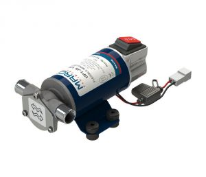 Marco UP1-JR 12V 8A Reversible impeller pump 28l/min with ON OFF Switch #MC16201112