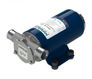Marco UP1-M 12V 14A Self-priming electric pump 45l/min with rubber impeller #MC16200612