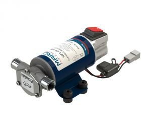 Marco UP1-JS 12V 8A Impeller pump 28l/min with integrated ON OFF Switch #MC16201012