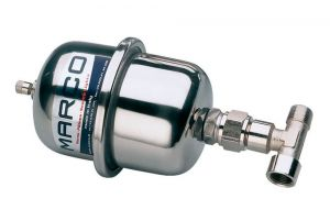"""Marco ATX1 Stainless steel Accumulator Tank 0,5lt with 3/8"""" T-nipple #N43838601318"""