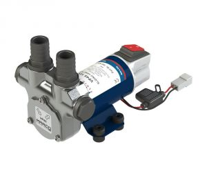 Marco VP45-S 24V 4A Vane pump 45l/min with integrated ON OFF switch #MC16602813