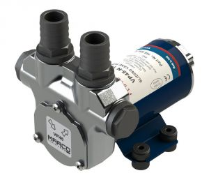 Marco VP45-N 12V 8A Vane pump 45 l/min with integrated by-pass valve #MC16602612
