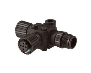 Lowrance N2K-T-RD - NMEA 2000 T-connector for connection of additional network device - Code: 62520167