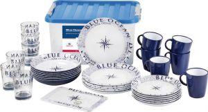 Set stoviglie Serie Vasellame Blue Ocean per 6 coperti #OS4843150