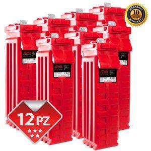 Rolls 2YS27P SERIE 5000 Banco Batterie 24 Volt 71,25 kWh C100 #200ROLLS2YS27P-24V