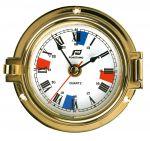 Orologio in ottone lucido Ø esterno 120mm #FNIP12768