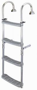 Folding ladder 4 steps 1050x290mm #FNIP55695