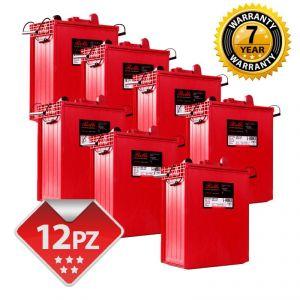 Banco Batterie Rolls S-1400EX serie 4500 - 24V 33,79 kWh C100  #200ROLLSS1400EX-24