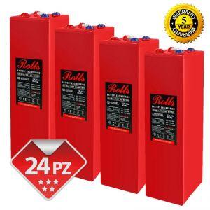Rolls OpzV GEL Battery Bank 48 Volt 61.20 kWhC100 #200ROLLSS21070GEL